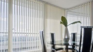 Cortinas verticales tejidos decorativos