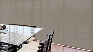 Paneles japoneses Texcreen tacto textil